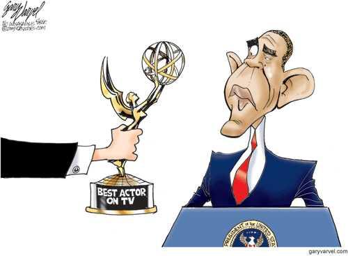 Obama Wins Best Actor